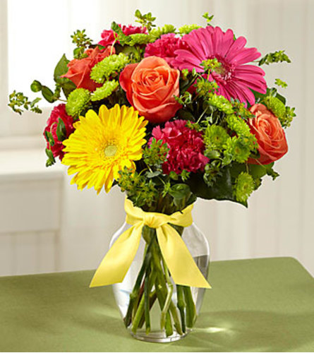 The FTD Bright Days Ahead Vase Arrangement