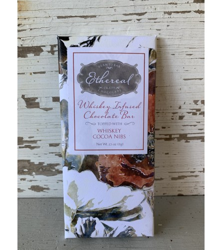 Ethereal Chocolate Whiskey Infused Chocolate Bar