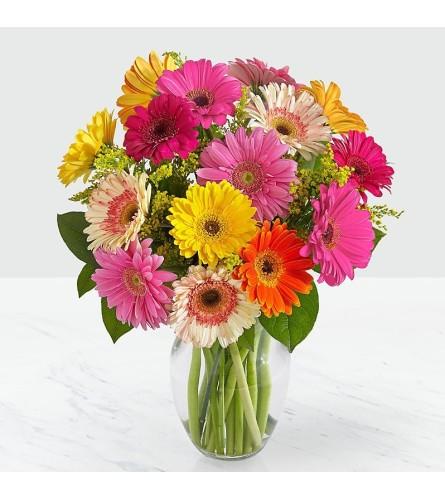 Colourful World Vase Arrangement