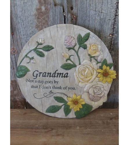 "Plaque ""Grandma"""
