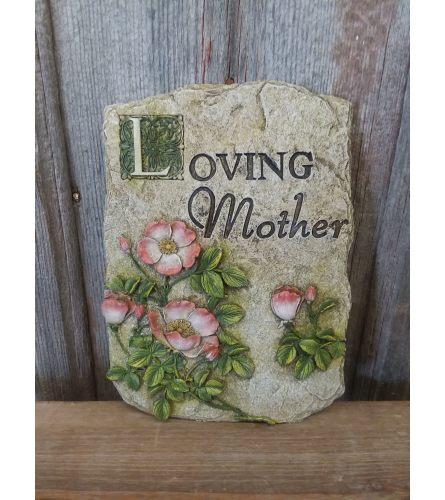 "Plaque ""Loving Mother"""