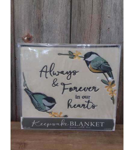 "Blanket ""Always and Forever"""