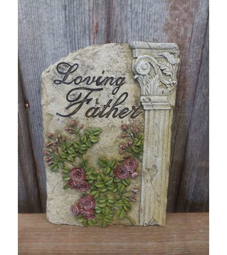 "Plaque ""Loving Father"""