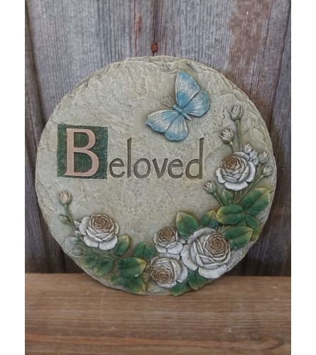 "Plaque ""Beloved"""