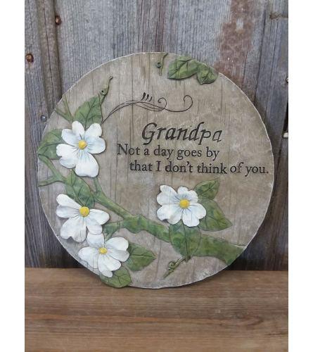 """Plaque """"Grandpa"""""""