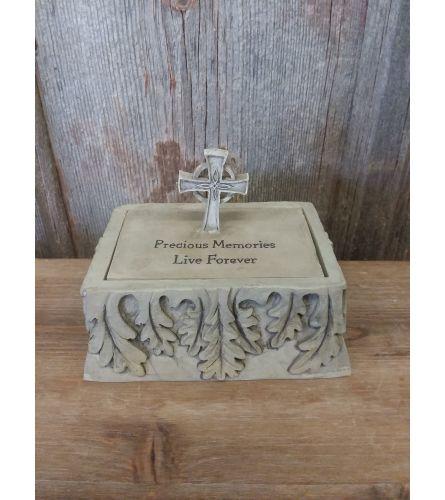 """Memory Box """"Precious Memories Live Forever"""""""