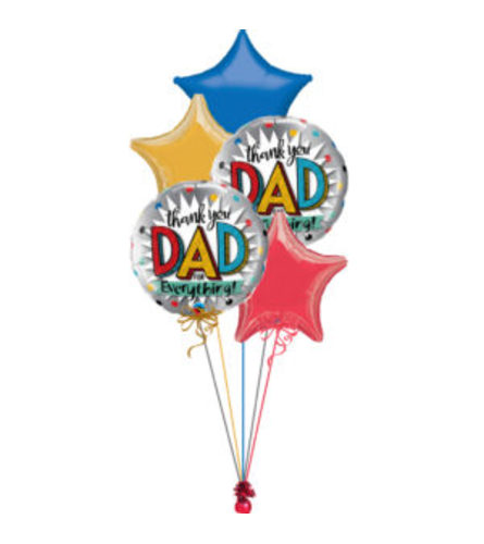 Happy Father's Day Balloon Bouquet