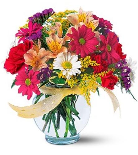 Joyful and Thrilling Vase Arrangement