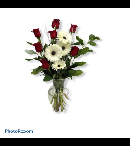 Pure Affection Vase Arrangement