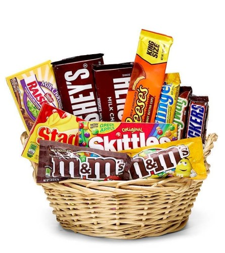 Everybody's Favorite Candy Basket