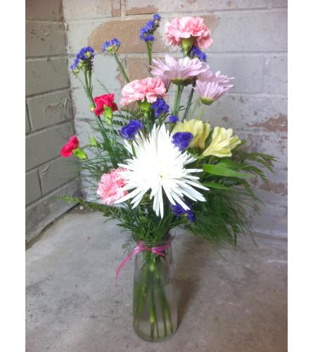 Nature's Bliss Vase Arrangement