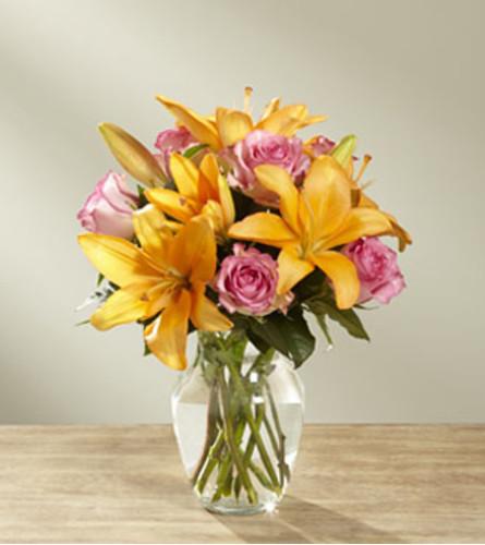 The FTD A Fresh Take Bouquet Vase Arrangement