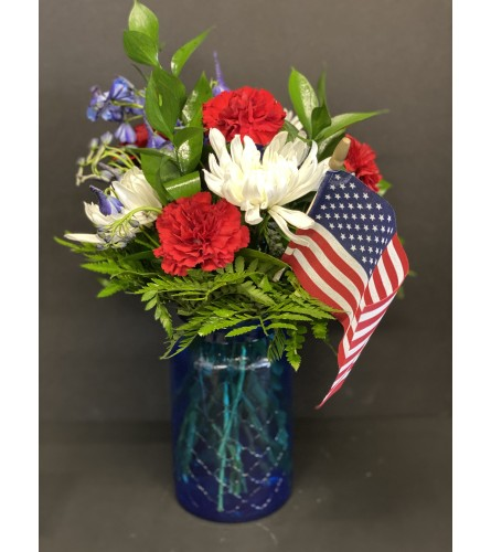 4th of July Freedom Flowers
