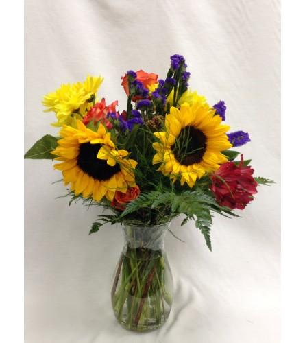 Autumn Bliss Vase Arrangement