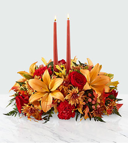 The FTD Bright Autumn Centrepiece