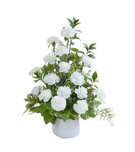 White Simple Love Tribute