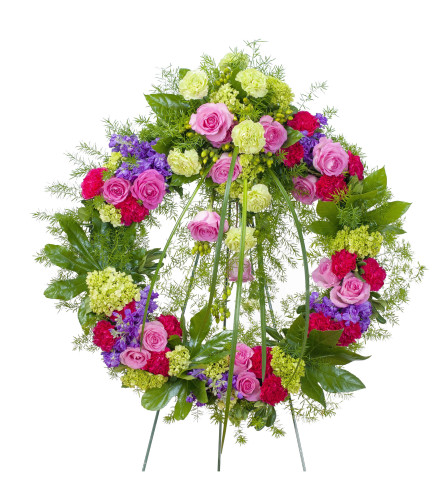 Forever Cherished Garden Wreath