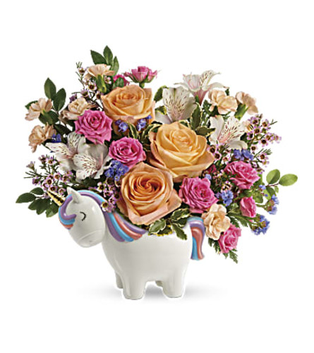 The Magical Garden Unicorn Bouquet