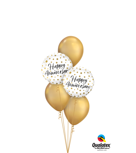 Happy Anniversary Classic Balloon Bouquet