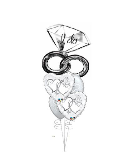 I Do Love You Cheerful Balloon Bouquet