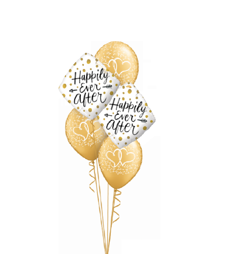 Happily Ever After Classic Balloon Bouquet