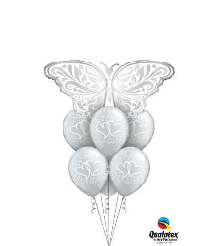 Butterfly Love Awesome Balloon Bouquet