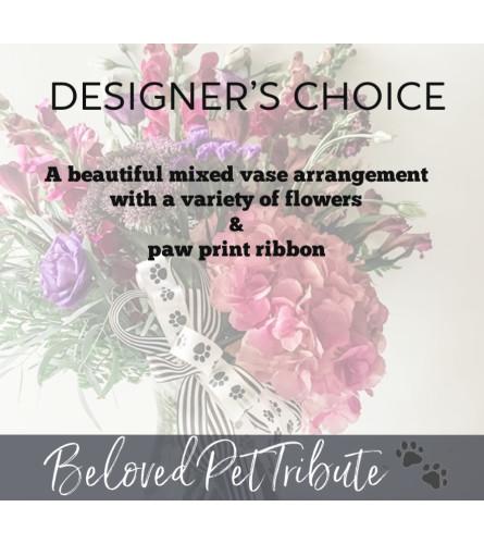 Designer's Best-Pet Sympathy