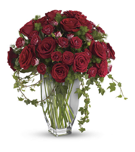 The Most Red Rose Arrangement