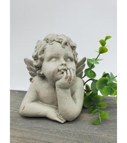 Thoughtful Angel Sympathy Stone