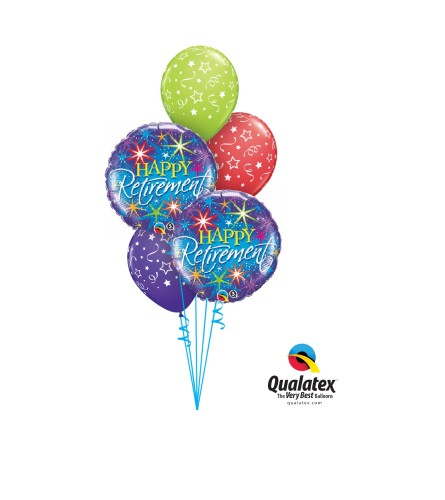 Retirement Classic Balloon Bouquet
