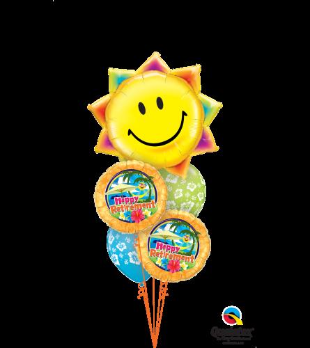 Happy Retirement, Sunshine! Cheerful Balloon Bouquet
