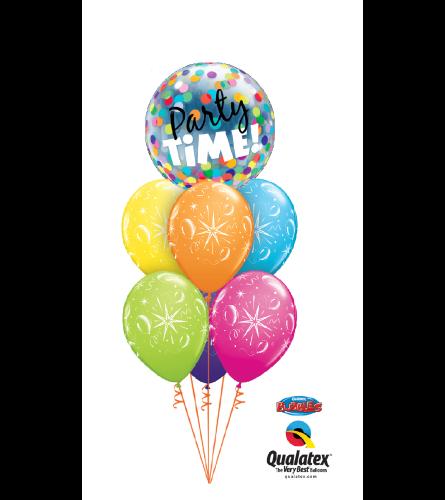 It's a Party Bubble Balloon Bouquet