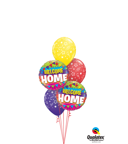 Welcome Home Classic Balloon Bouquet