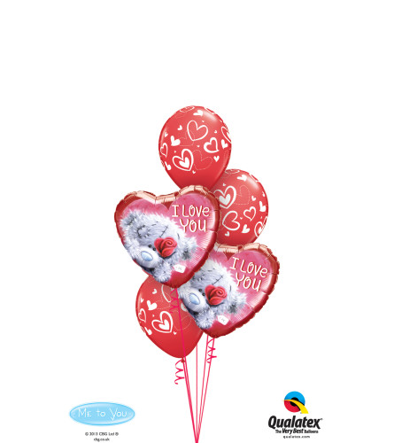 Tatty Teddy Love Classic Balloon Bouquet
