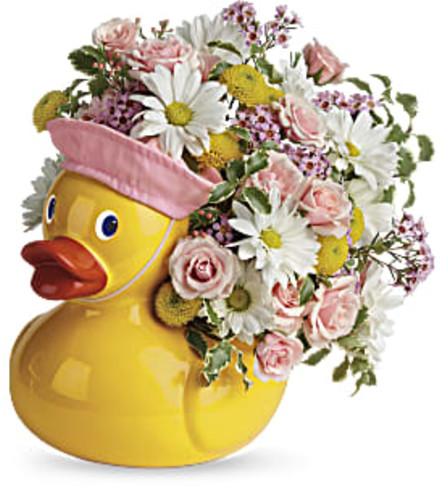 Sweet Little Ducky Bouquet by Teleflora from Bow River Flower Ate