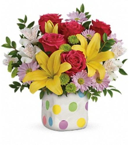 Delightful Dots by Teleflora at Bow River Flower Atelier