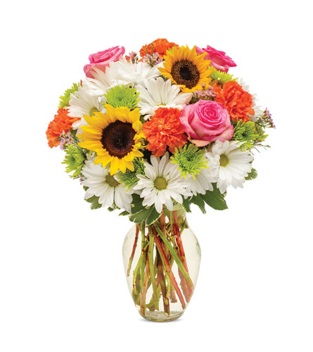 Just to make you Smile Bouquet by Bloomnet at Bow River Flower At