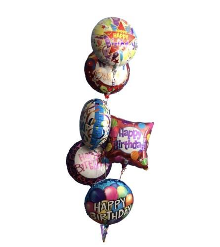 Birthday balloons bouquet