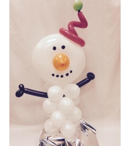 Snowman Balloon Buddy