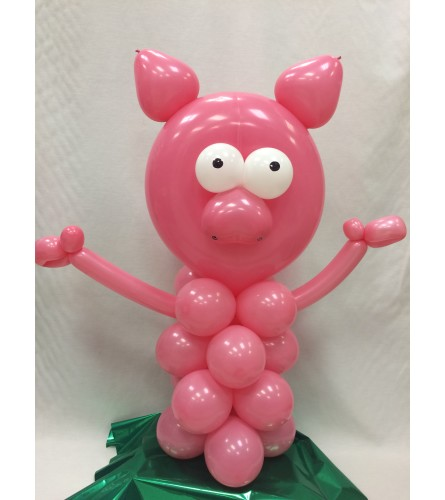 Pig Balloon Buddy