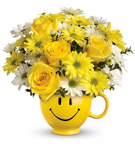 Bee Happy Bouquet from Teleflora at Bow River Flower Atelier