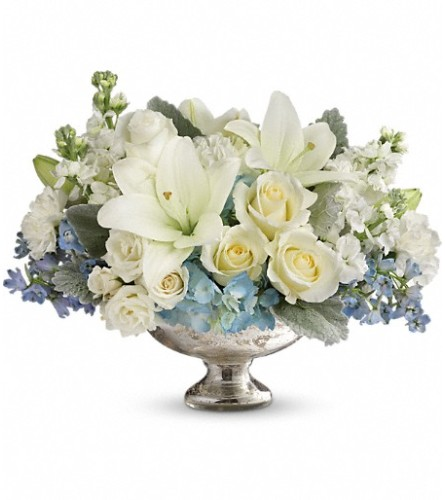 Elegant Affair Centerpiece from Teleflora at Bow River Flower Ate
