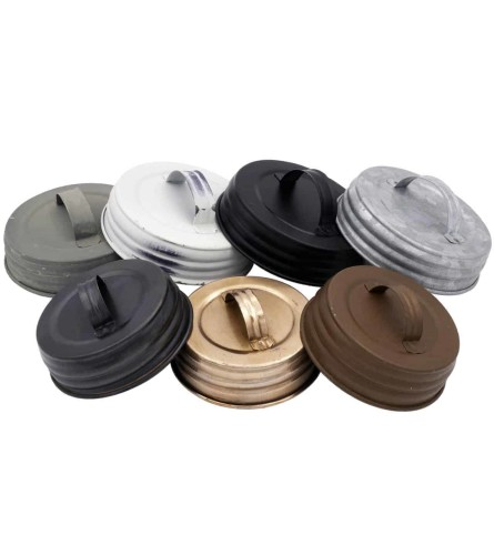 handled lid for mason jars regular