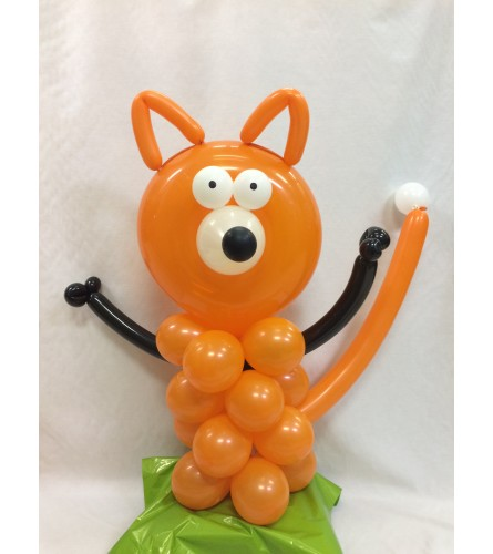 Fox Balloon Bouquet