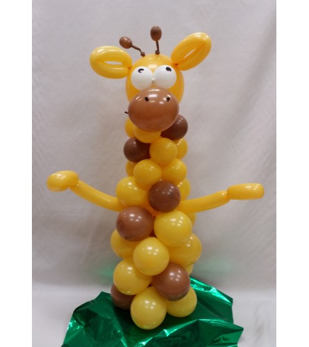 Giraffe Balloon Buddy