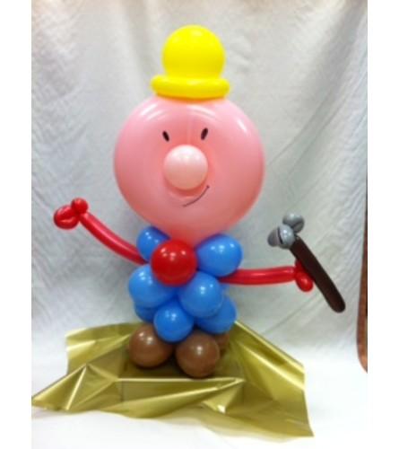 Robert the Contractor Balloon Buddy