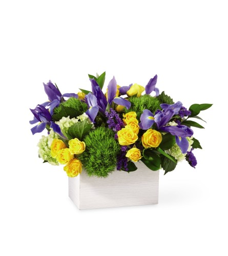 Fields of Iris Bouquet from FTD at Bow River Flower Atelier