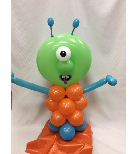 Monster Cyclops Balloon Buddy