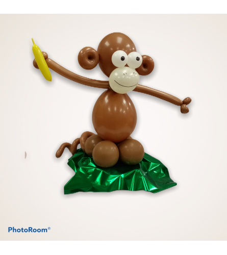 Safari Monkey Balloon Buddy