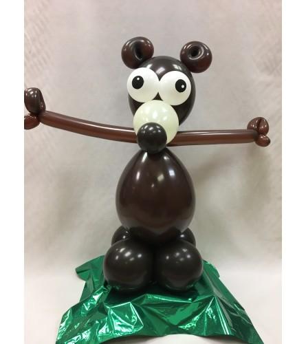 Safari Bear Balloon Buddy
